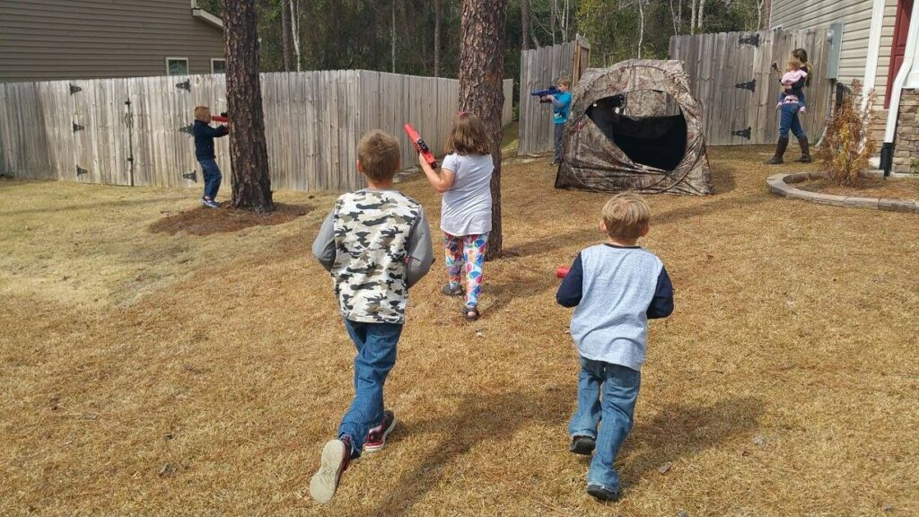 Finger Lakes New York laser tag birthday party