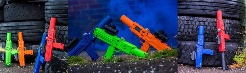 Finger Lakes New York laser tag party equipment