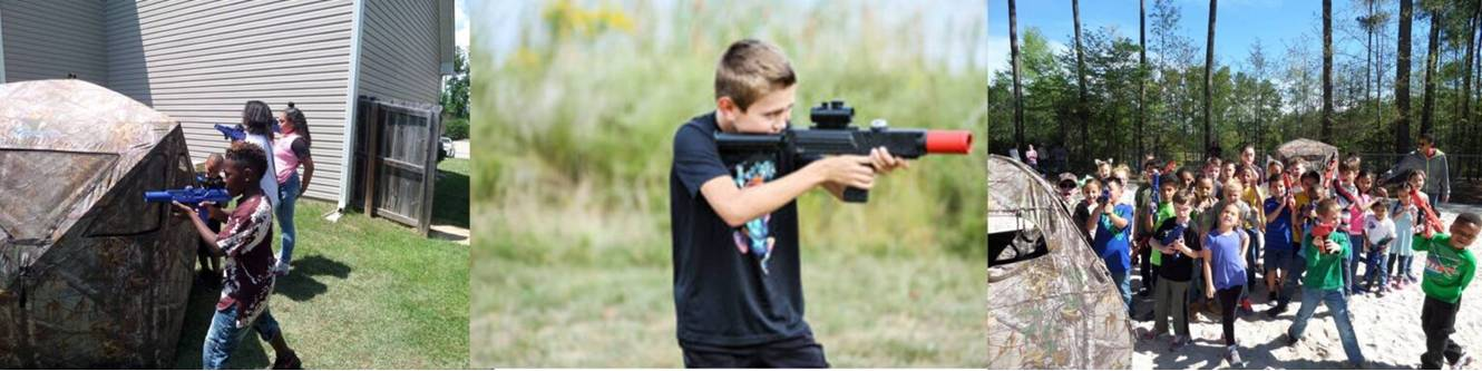Laser Tag party in New York's Finger Lakes region