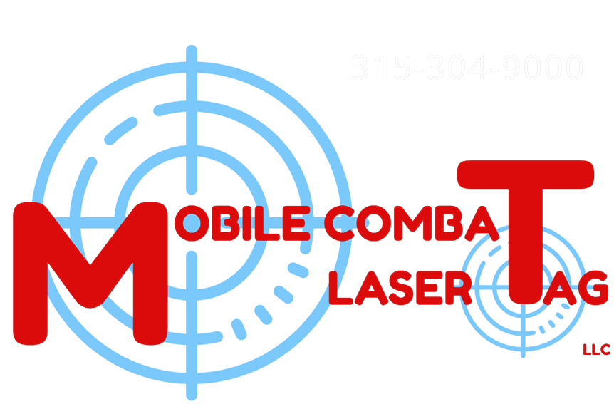 Mobile Combat Laser Tag parties in Finger Lakes New York logo